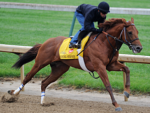 Rousing Sermon works at Churchill Downs 5/1/2012