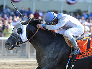 Sahara Sky wins the Metropolitan Handicap aka Met Mile.