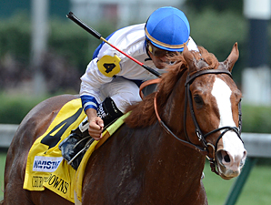 Shackleford in the Churchill Down Stakes.