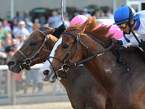 Shackleford wins the Metropolitan Mile at Belmont Park.
