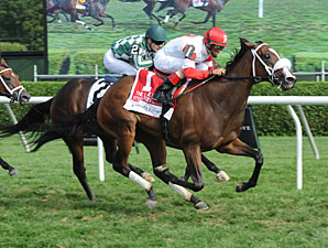 Stephanie's Kitten wins the Lake Placid Stakes.
