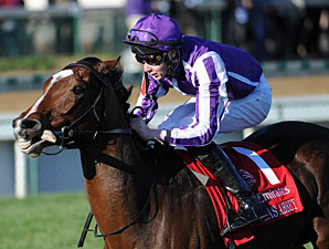 St Nicholas Abbey in the Breeders' Cup Turf.