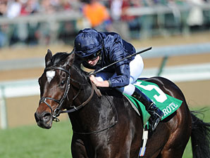 Wrote in the 2011 Breeders' Cup Juvenile Turf.